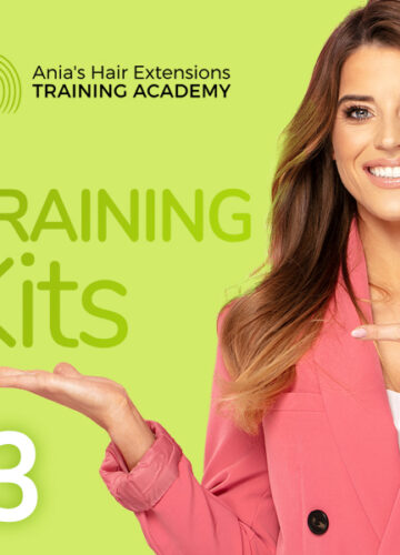 Hair Extensions Training Kit 3 unit